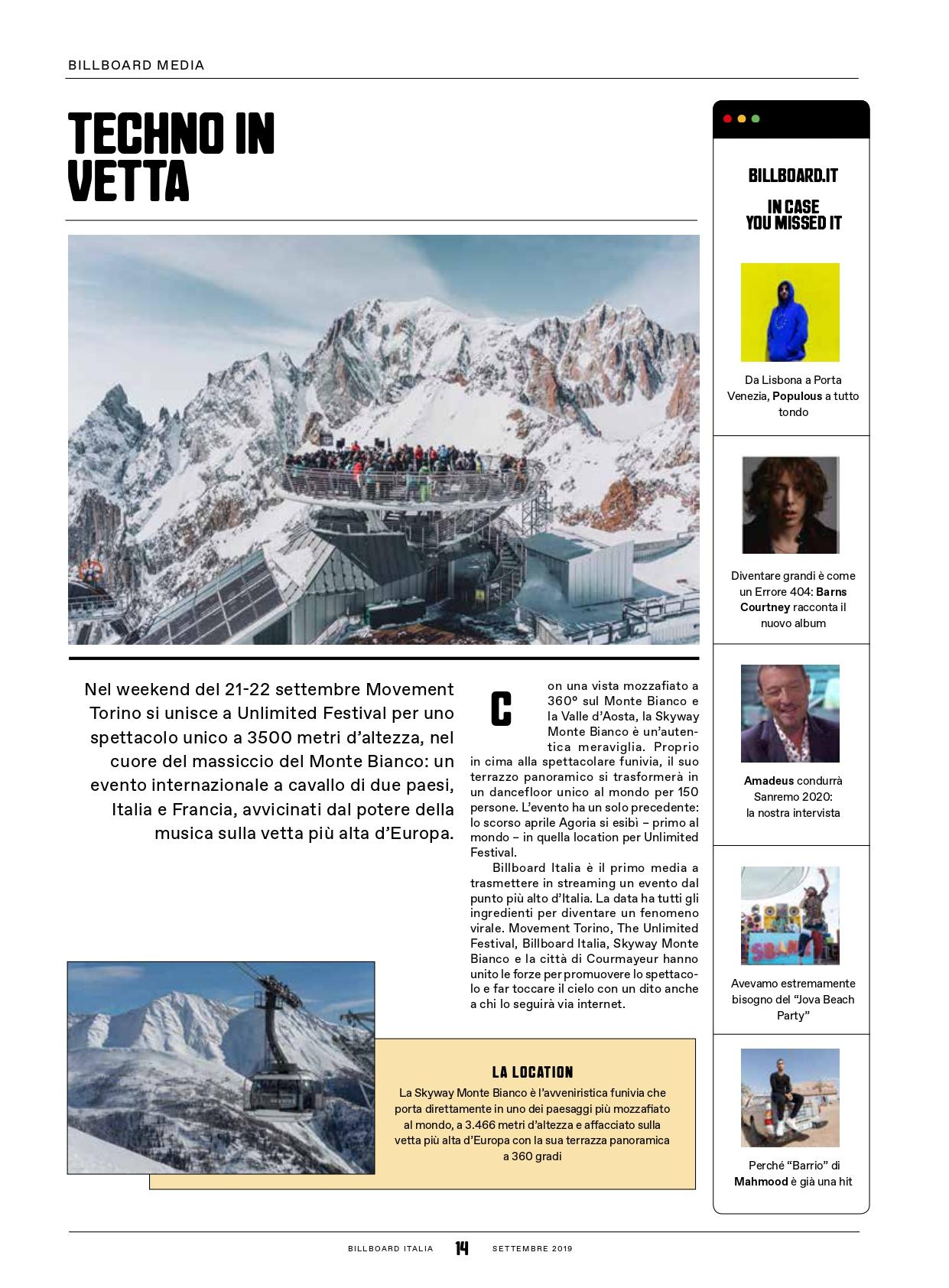 Techno In Vetta Movement